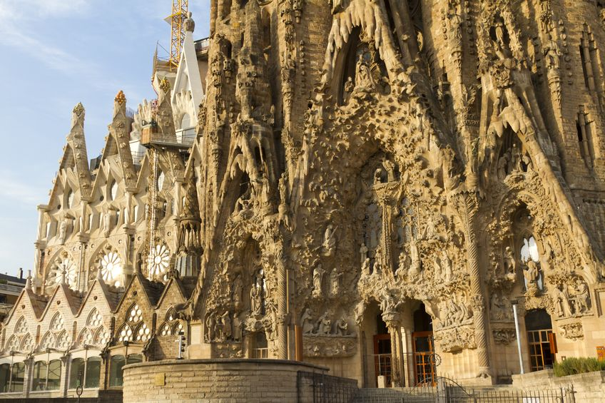 Church of the Sacred Family Barcelona Spain