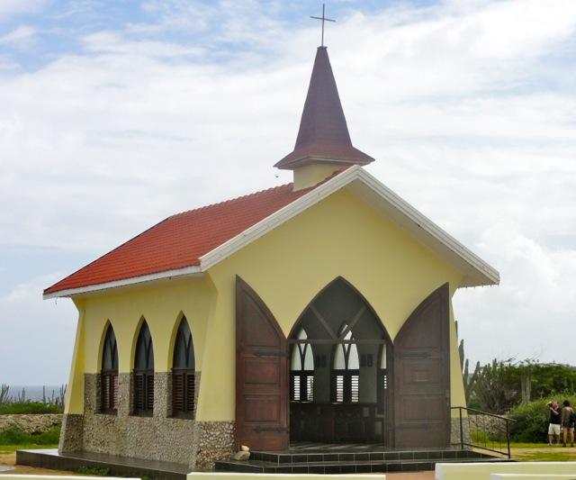 Alto Vitsa Chapel - Aruba, Caribbean