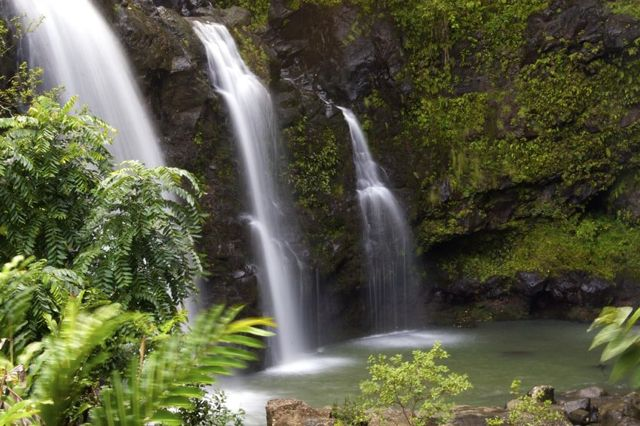 Travel Life List (Bucket List) Maui Waterfall