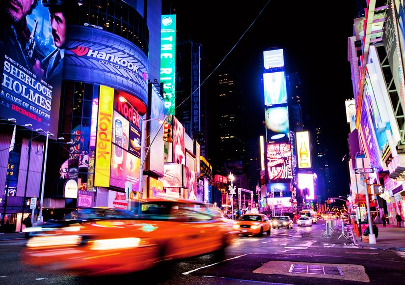 How my life went from ordinary to extraordinary - Times Square