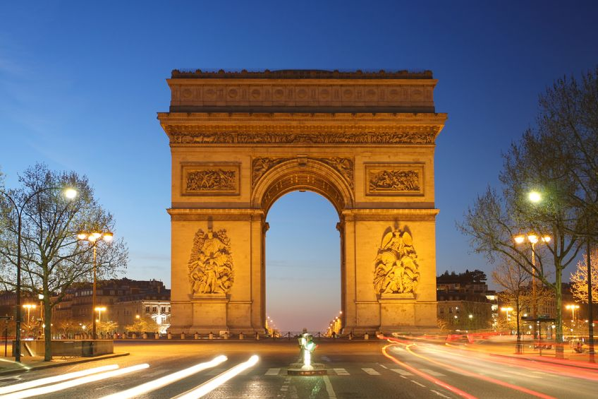 We had a dream and we made it happen – Paris France Arc de Thriomph