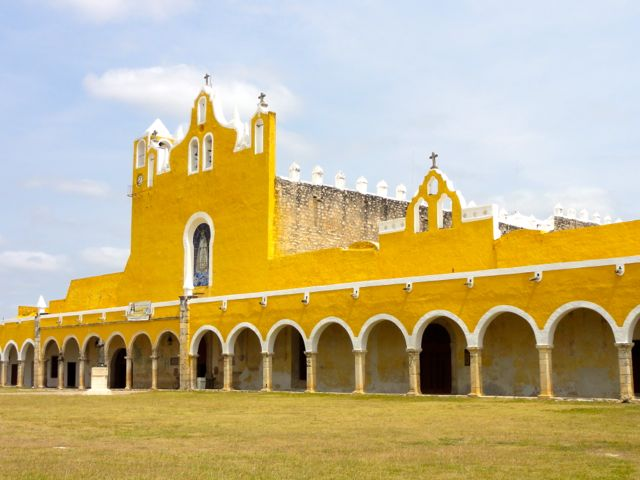 Izamal The Yellow City