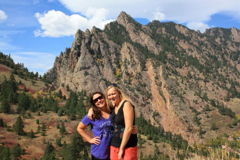 An Interview With A Traveler   GlobeTrotterGirls.com - Dani & Jess in El Dorado Canyon Colorado