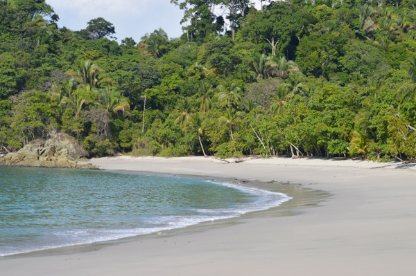 Costa Rica Photo Essay - Beautiful Beach in Manuel Antonio National Park