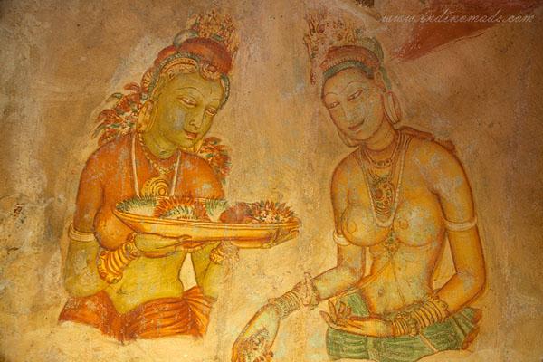 Explore Sri Lanka - Sigiriya Painting