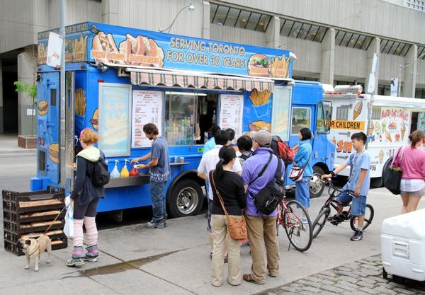 Top 10 Food Places in Toronto - Food Trucks