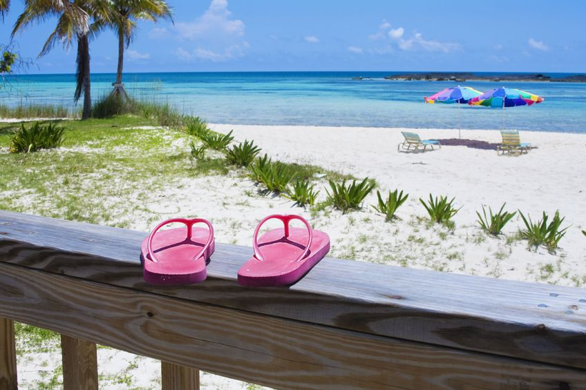 Escape the Winter, Head to the Sun - THONGS WITH BEACH VIEW