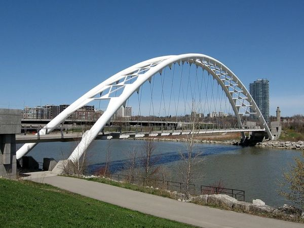 Toronto Architecture Highlights - Humber Bay Arch Bridge