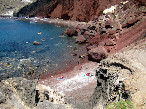 Natures Best Photo Essay - Red beach santorini