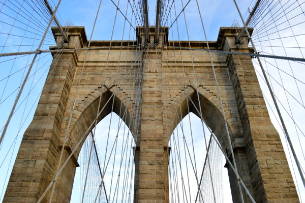 500 days of travel - Brooklyn Bridge