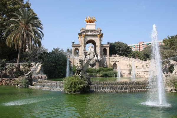 500 days of travel - Parc de la Ciutadella