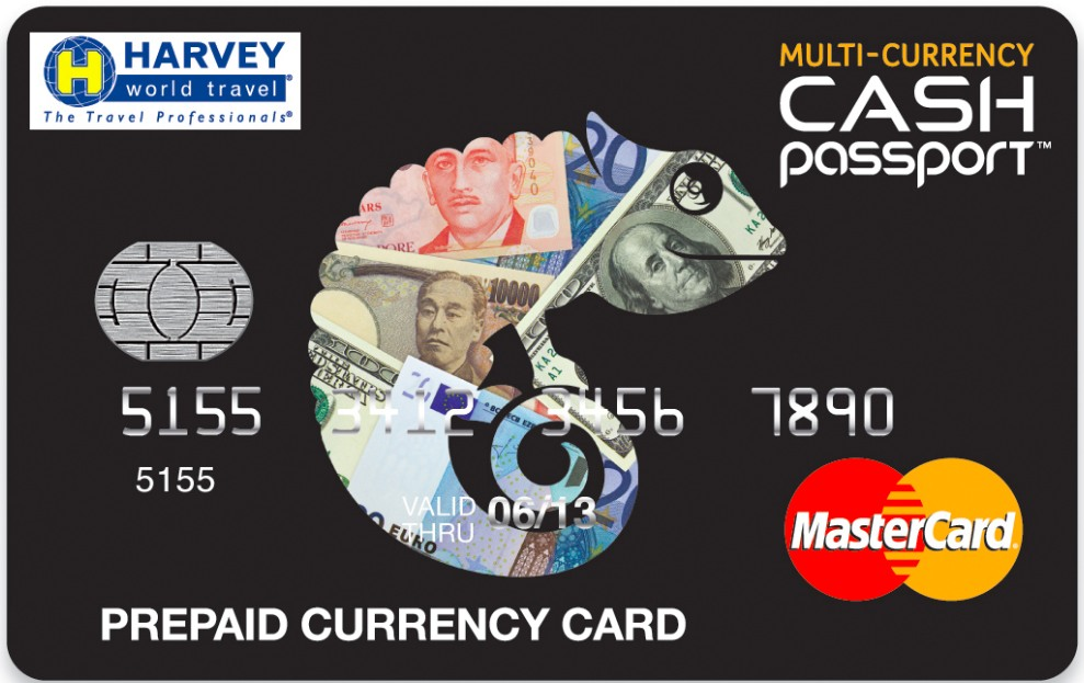 Travel Money Options - Pre Paid Cash Passport