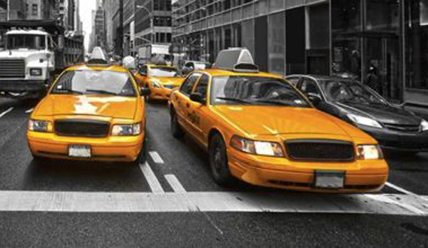 Travel Safety - times-square-taxi