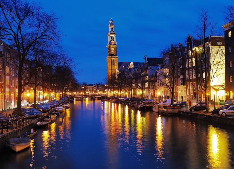 A Canal Cruise in Amsterdam