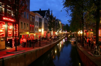 A Canal Cruise in Amsterdam - NIGHT