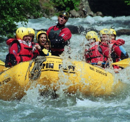 Adrenaline Overdrive River Rafting with Alpin Raft Interlaken