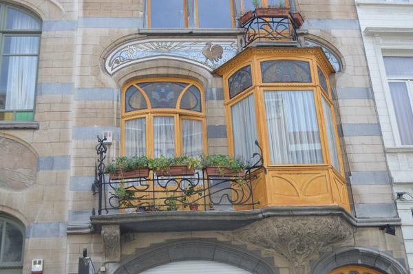 Art Nouveau in Brussels - Balcony