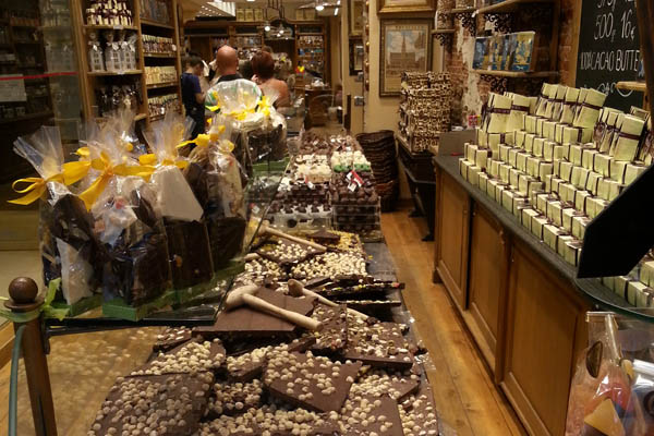Chocolate in Brussels Belgium - General