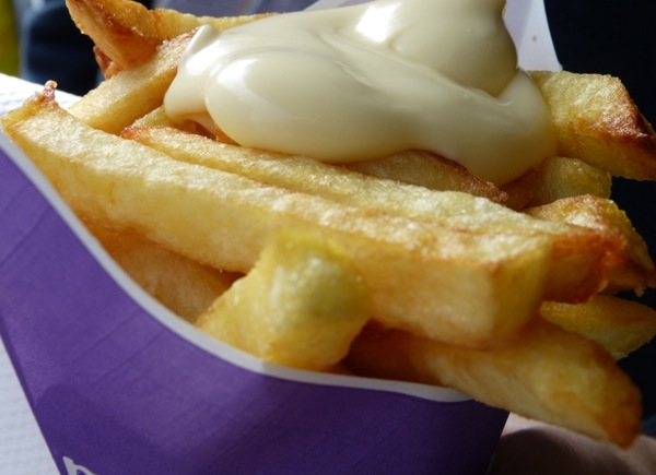 Dutch Cuisine - fries and mayo