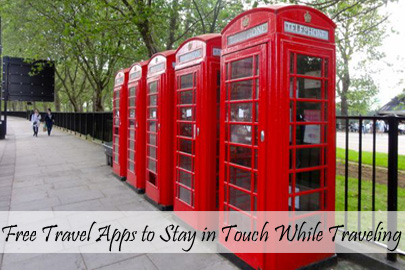 Travel Tips - On The Road - Free Travel Apps to Stay in Touch While on the Road - TN