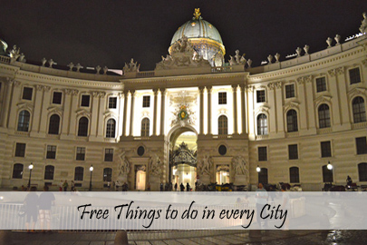 Free things to do in every city Cover