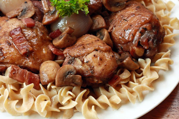 French Cuisine at its Best - c au vin