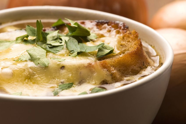 French Cuisine at its Best - onion soup