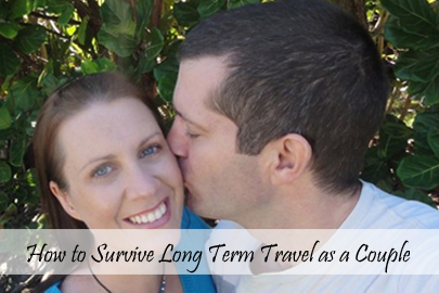 How to survive long term travel as a couple