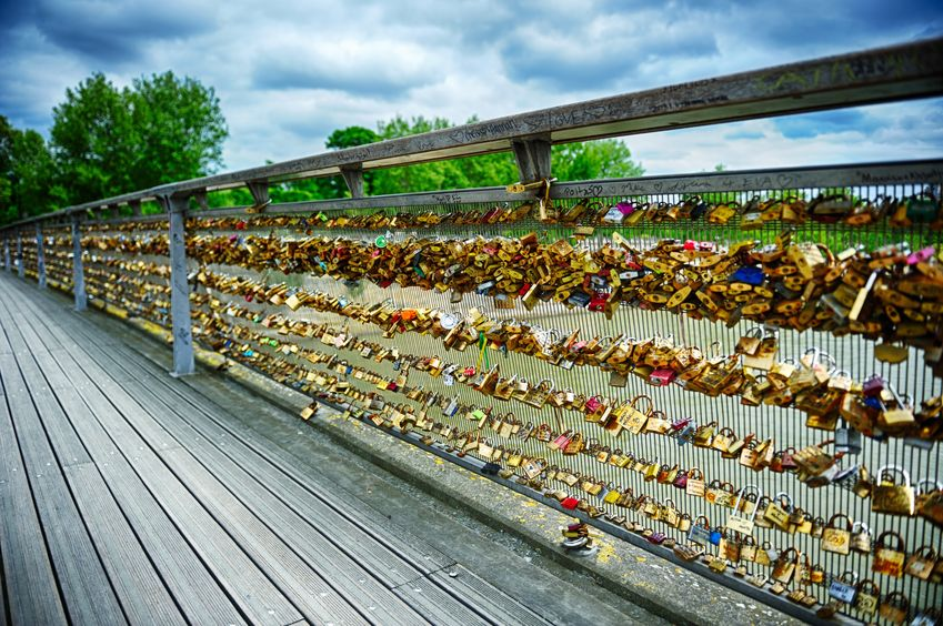 Lovers Bridge Paris