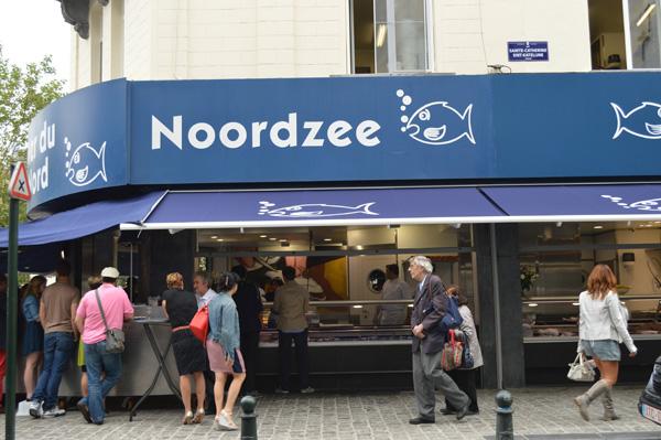 Our Favorite Restaurants in Brussels Belgium - Noordzee Mer du Nord 2