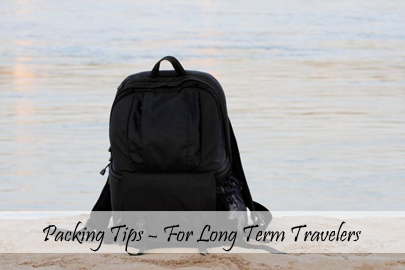 Packing Tips – For Long Term Travelers Cover
