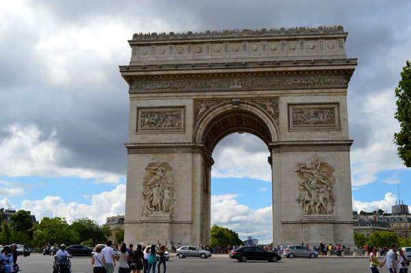 Paris Photo Essay - Arc de Triomphe 1