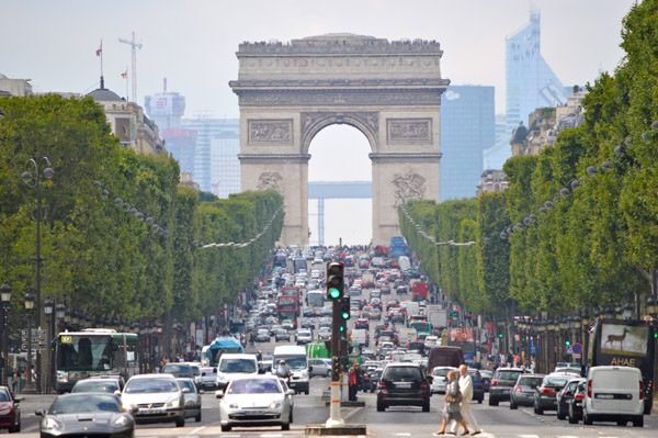 Paris Photo Essay - Arc de Triomphe 2