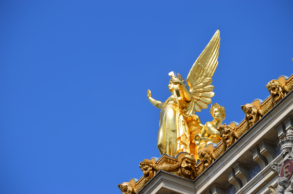Paris Photo Essay - Golden Angel