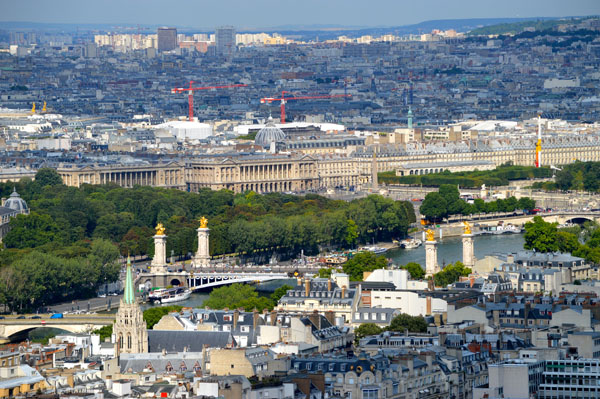 Paris Photo Essay - View from Eiffel Tower