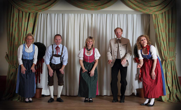 The Sound of Salzburg - Cast - photo from their website