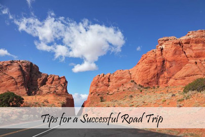 Travel Tips - On The Road - Tips for a Successful Road Trip - TN