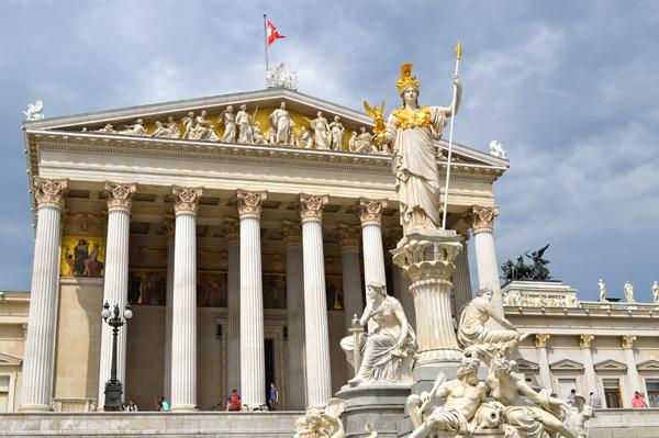 Vienna Austria - Parliment Building