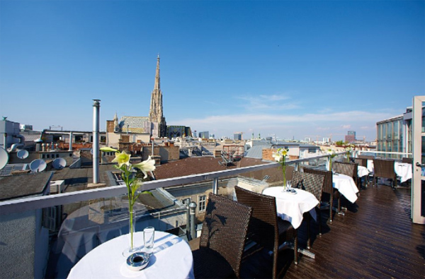 A Touch of Luxury in Vienna - Sky Bar