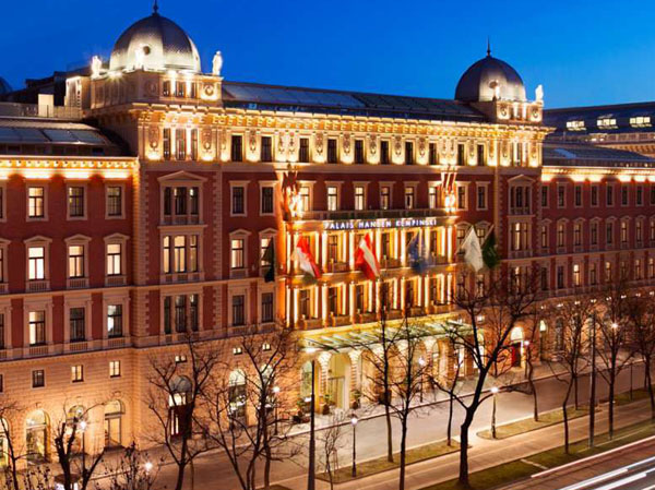 Luxury at its best with Kempinski Vienna - Front