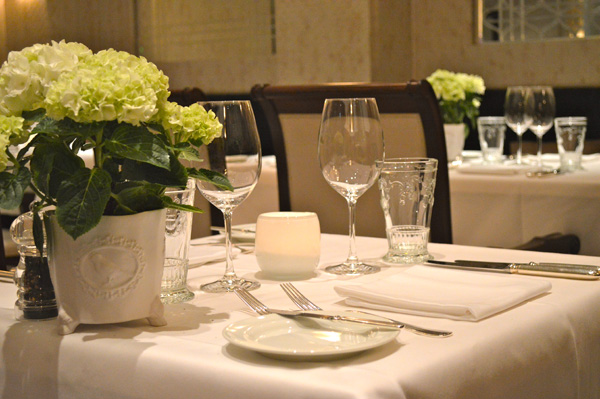 Luxury at its best with Kempinski Vienna - Table at Resturant