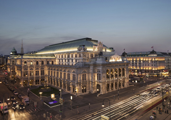 Walking in Awe Through Vienna - OPERA