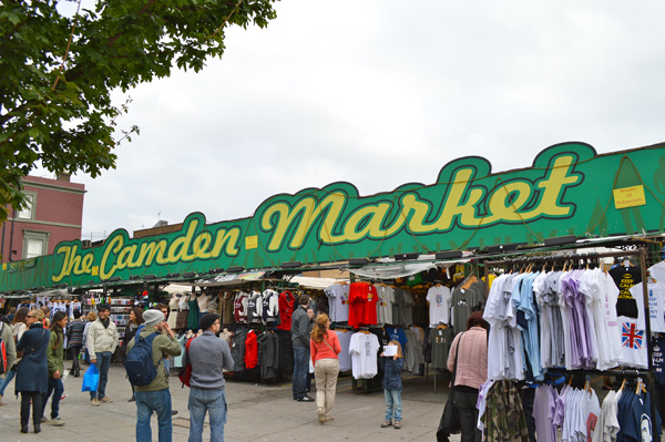 Camden Markets - Sign