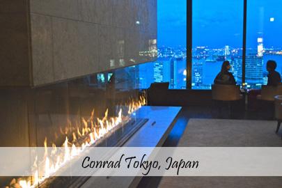 Conrad Tokyo Japan Cover