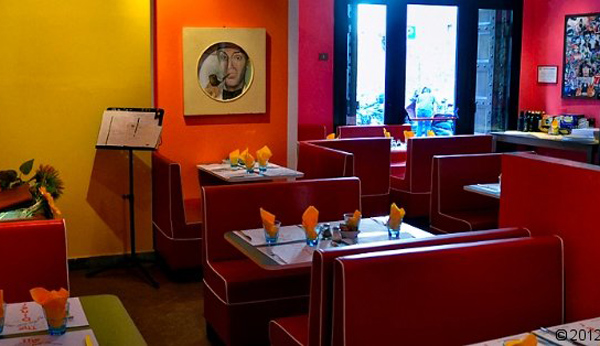 Foodies Feast in Florence - The Diner - source The Dinners website