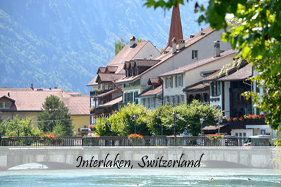 Interlaken Switzerland Photo Essay