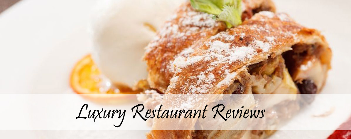 Luxury Restaurant Reviews Cover