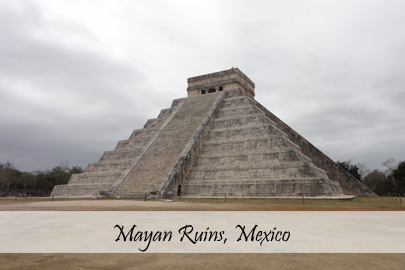Mayan Ruins Mexico Photo Essay Cover