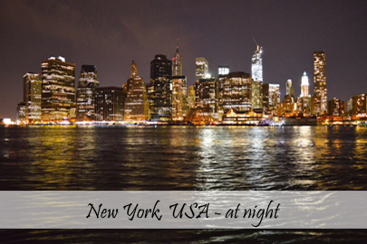 New York at Night Photo Essay Cover