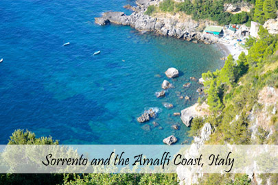 Sorrento and the Amalfi Coast - Cover